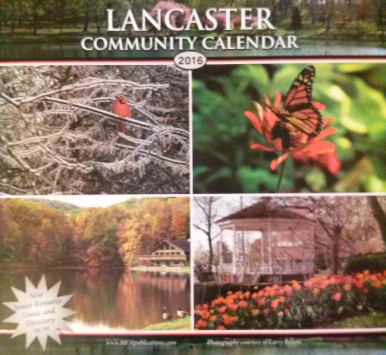 Lancaster Community Calendar