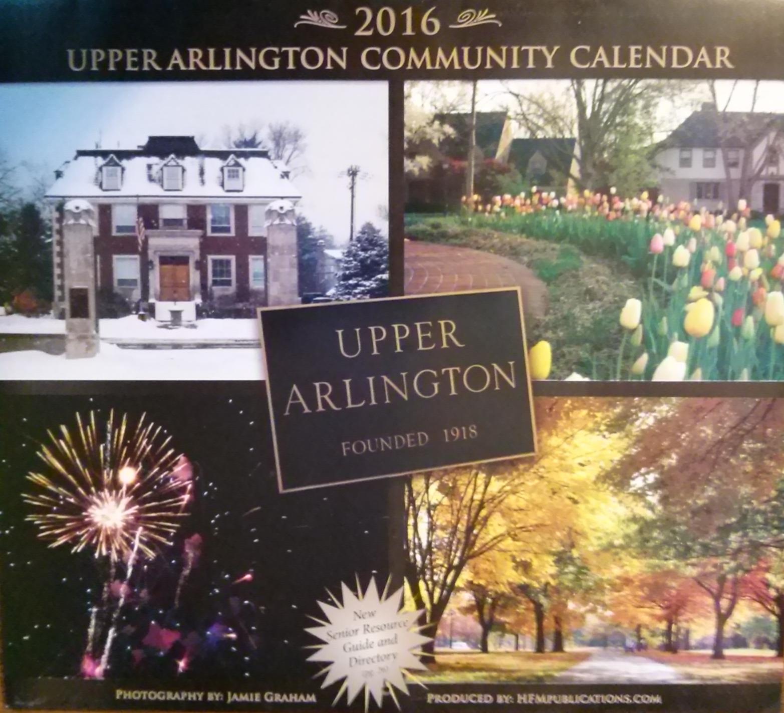 Upper Arlington Community Calendar