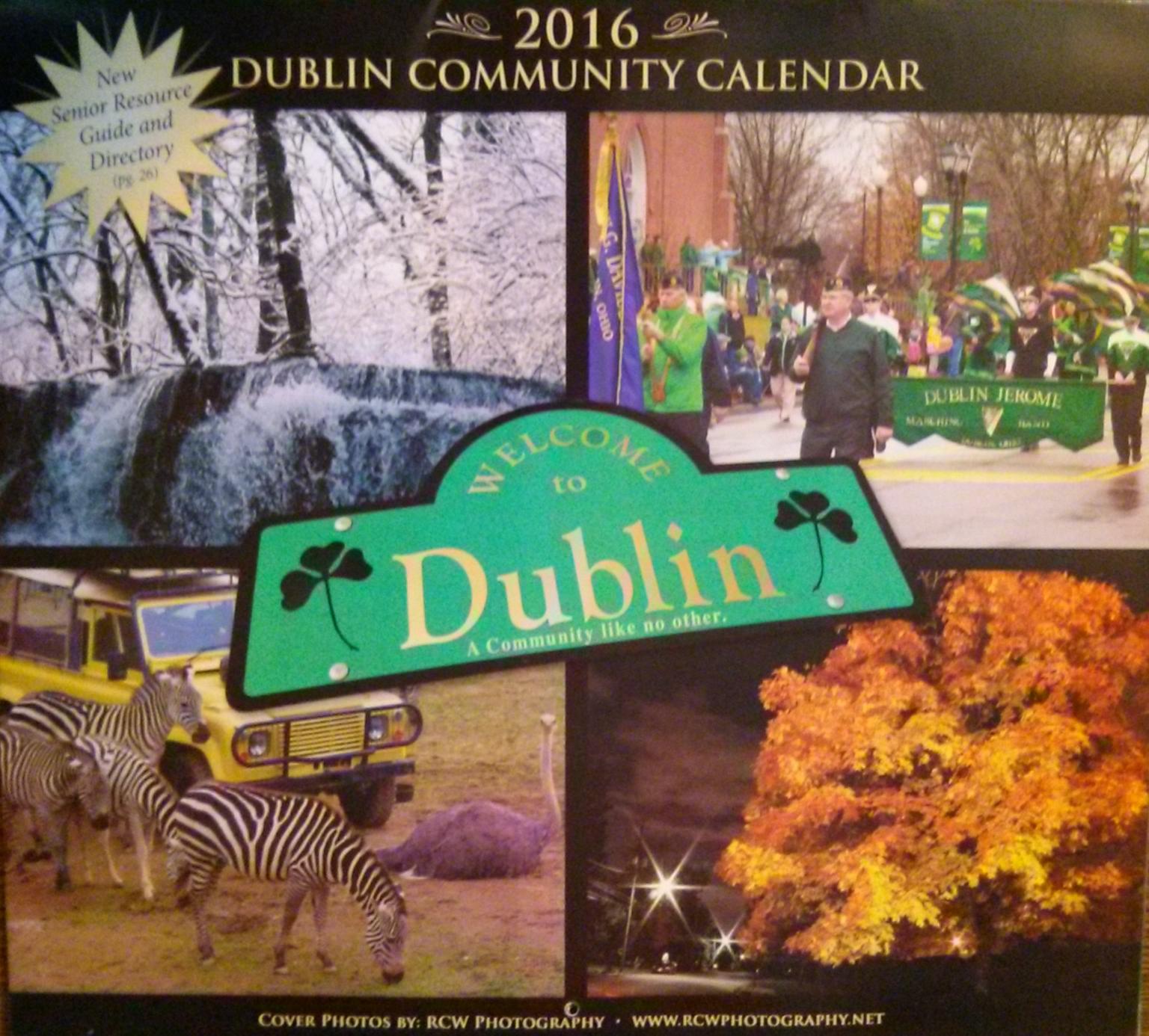 Dublin Community Calendar