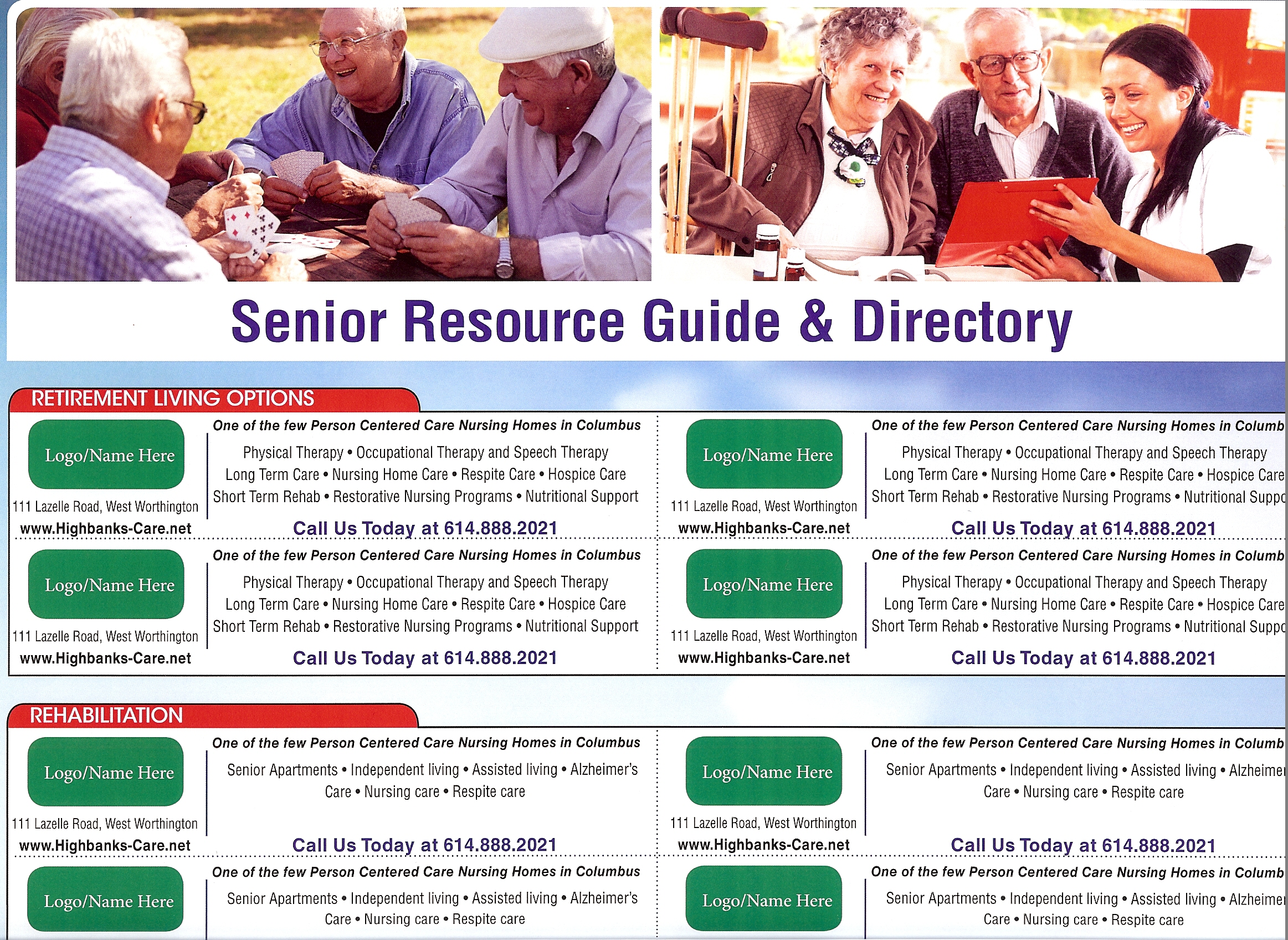 HFM Publications Buckeye Community Calendars Professional Senior Resource Guide
