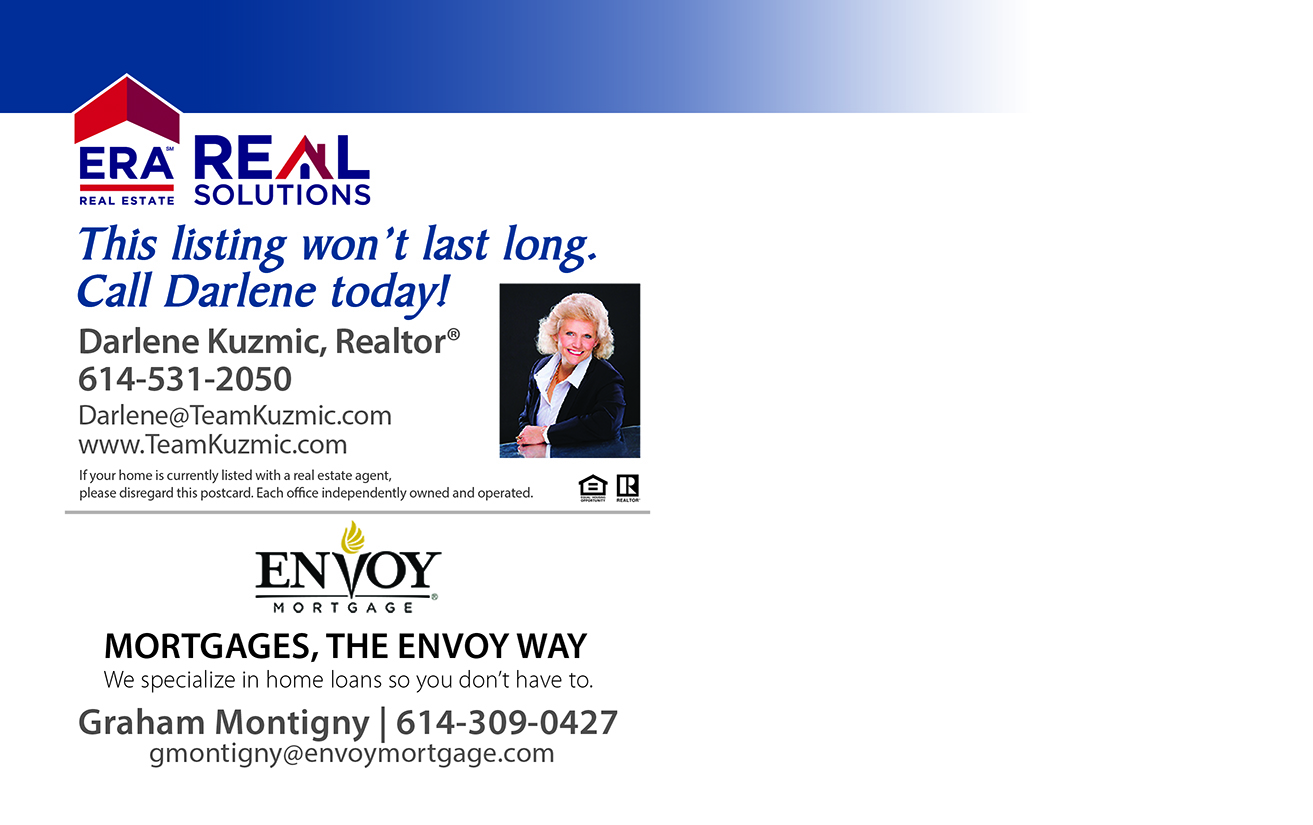 New Price Realtor Post Card